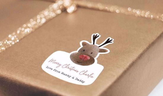Picture of Personalised Christmas Gift Label